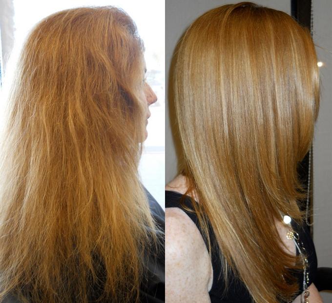 Что такое термокератин для волос